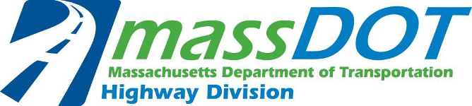 massDOT logo: Massachusetts Department of Transportation Highway Division